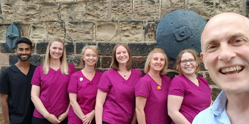 The team at Hackenthorpe Dental Health Centre, Sheffield Dentist, Dr Andrew Cadman